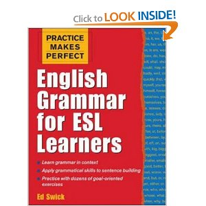 Click Here to see more on English Grammar for ESL Learners