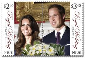 William and Kate Royal Wedding Stamps
