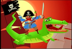 pirate crocodile