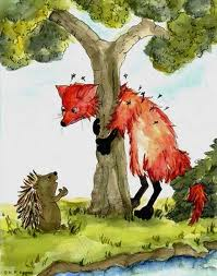 the fox and the mosquitos